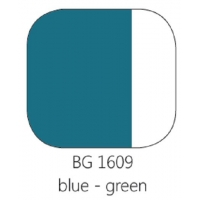 BG 1609 Loodvrije resistente glasverf Blauwgroen per 100 gram