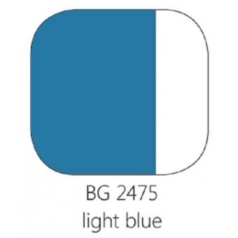 BG 2475 Loodvrije resistente glasverf Lichtblauw per 100 gram