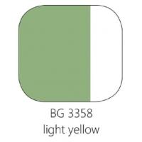 BG 3358 Loodvrije resistente glasverf lichtgeel,100 gram