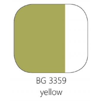 BG 3359 Loodvrije resistente glasverf geel,100 gram