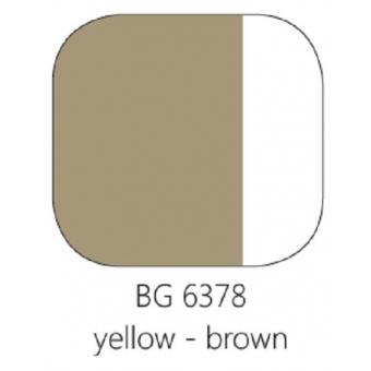 BG 6378 Loodvrije resistente glasverf Geel bruin, 100 gram