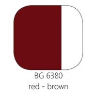 BG 6380 Loodvrije resistente glasverf Roodbruin, 100 gram
