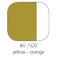 BG 7320 Loodvrije resistente glasverf Geel-Oranje, 100 gram