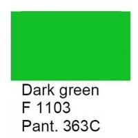 Glasverf, dekkend, donkergroen, F 1103, 100 gram