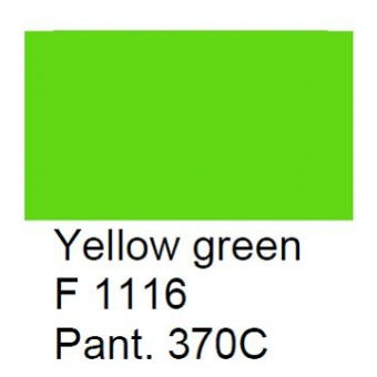Glasverf, dekkend geel-groen, F 1116, 100 gram