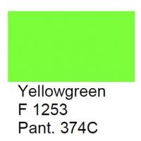 F 1253 Meissner Palette, geel-groen, 100 gram