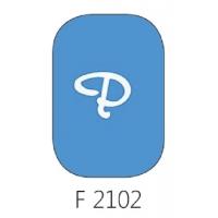 Glasverf, transparant blauw, F 2102, 100 gram