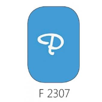 Glasverf, transparant blauw, F 2307, 100 gram