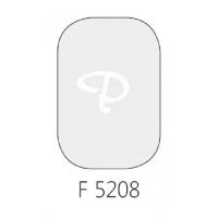 Glasverf, transparant rooktopaas, F 5208, 100 gram