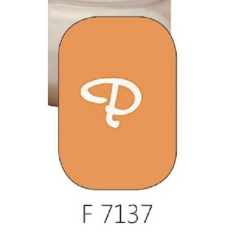 Glasverf, opaal oranje, F 7137, 100 gram