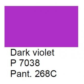 P 7038 Meissner Palette, donkerviolet, 100 gram