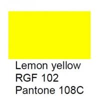 RGF 102 Meissner Palette, citroengeel, 100 gram