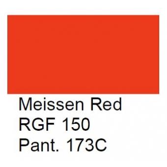 RGF 150 Meissner Palette, rood, 100 gram