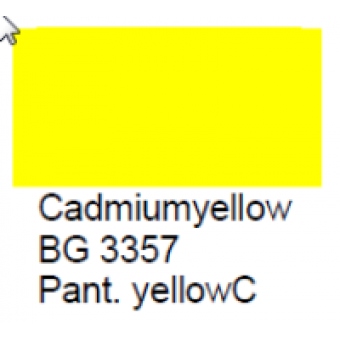 BG 3357 Loodvrije resistente glasverf Cadmiumgeel,100 gram
