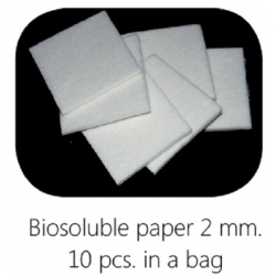 Biosoluble fibre scheidingsmateriaal 48 x 48 mm, 2 mm dik