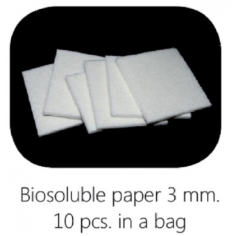 Biosoluble fibre scheidingsmateriaal 75 x 75 mm, 3 mm dik