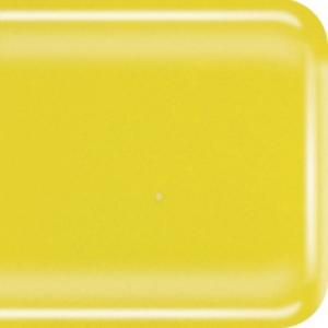 Baoli HotPot glas COE 90, opaal 10 x 9 cm  geel