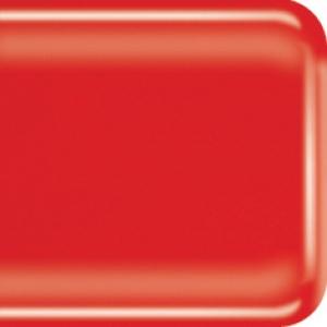 Baoli HotPot glas COE 90, opaal 10 x 9 cm  rood