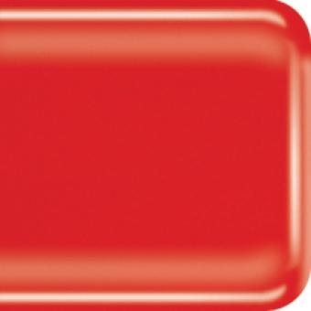 Baoli HotPot glas COE 90, opaal 20 x 18 cm rood